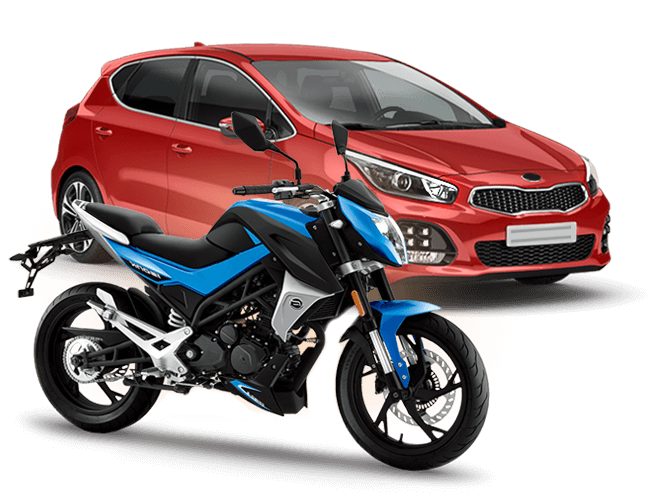 Категории A+B: легковой автомобиль и мотоцикл